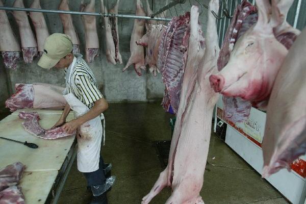 El Salvador prohibió temporalmente la importación de    cerdos procedente de Guatemala. (Foto Prensa Libre: Archivo)