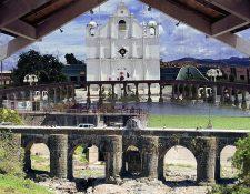 Iglesia de Jutiapa y Puente Los Esclavos, Santa Rosa (Foto PL: Hemeroteca)