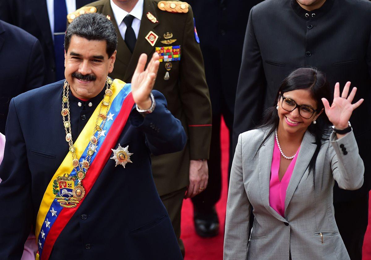 Vicepresidenta de Venezuela, Delcy Rodríguez, entre 11 sancionados por la UE
