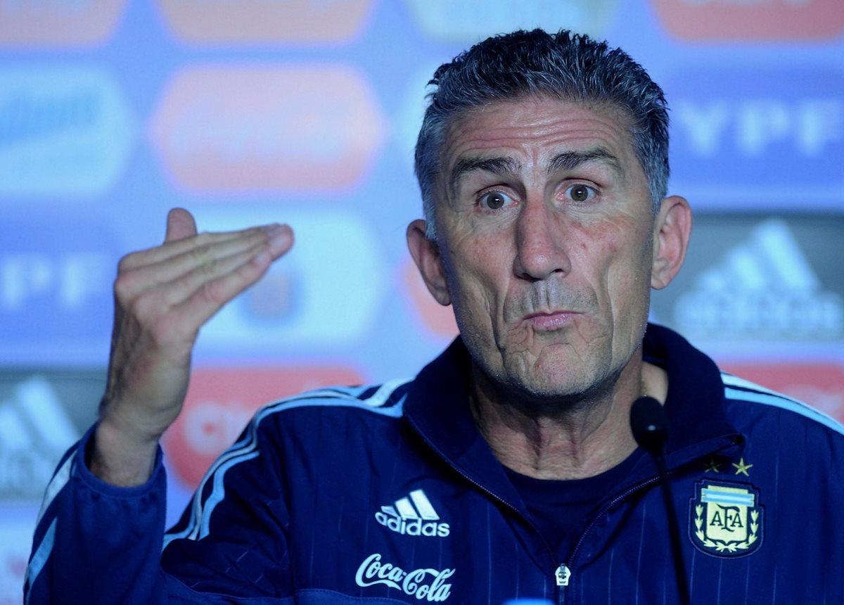 Bauza encara semana clave para su continuidad en selección Argentina