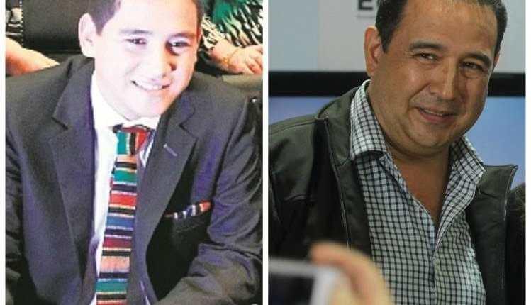 José y Samuel Morales, hijo y hermano del presidente Jimmy Morales, son incluidos en expediente de investigación del MP. (Foto Prensa Libre: Hemeroteca PL)