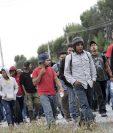 Inmigrantes centroamericanos huyen de la violencia en la región. (Foto: Hemeroteca PL)