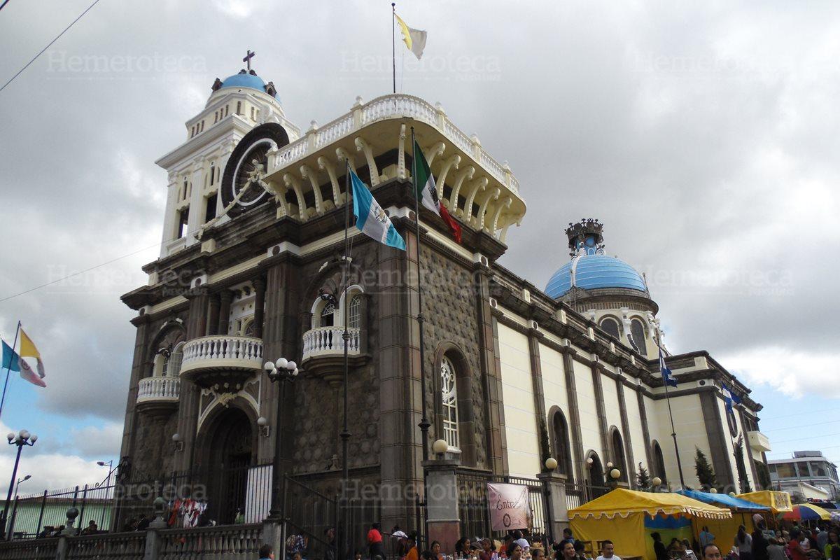 Fachada del Santuario de Nuestra Señora de Guadalupe. (Foto: Néstor Galicia)