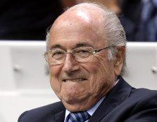 Joseph Blatter, fue presidente de la Fifa de 1998 al 2015. (Foto Prensa Libre: Hemeroteca PL)