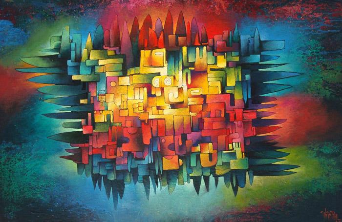 Pintores y críticos de arte reconocen el gran talento que tenía Valenzuela para plasmar los colores en sus obras. (Foto Prensa Libre: Antigua Guide).