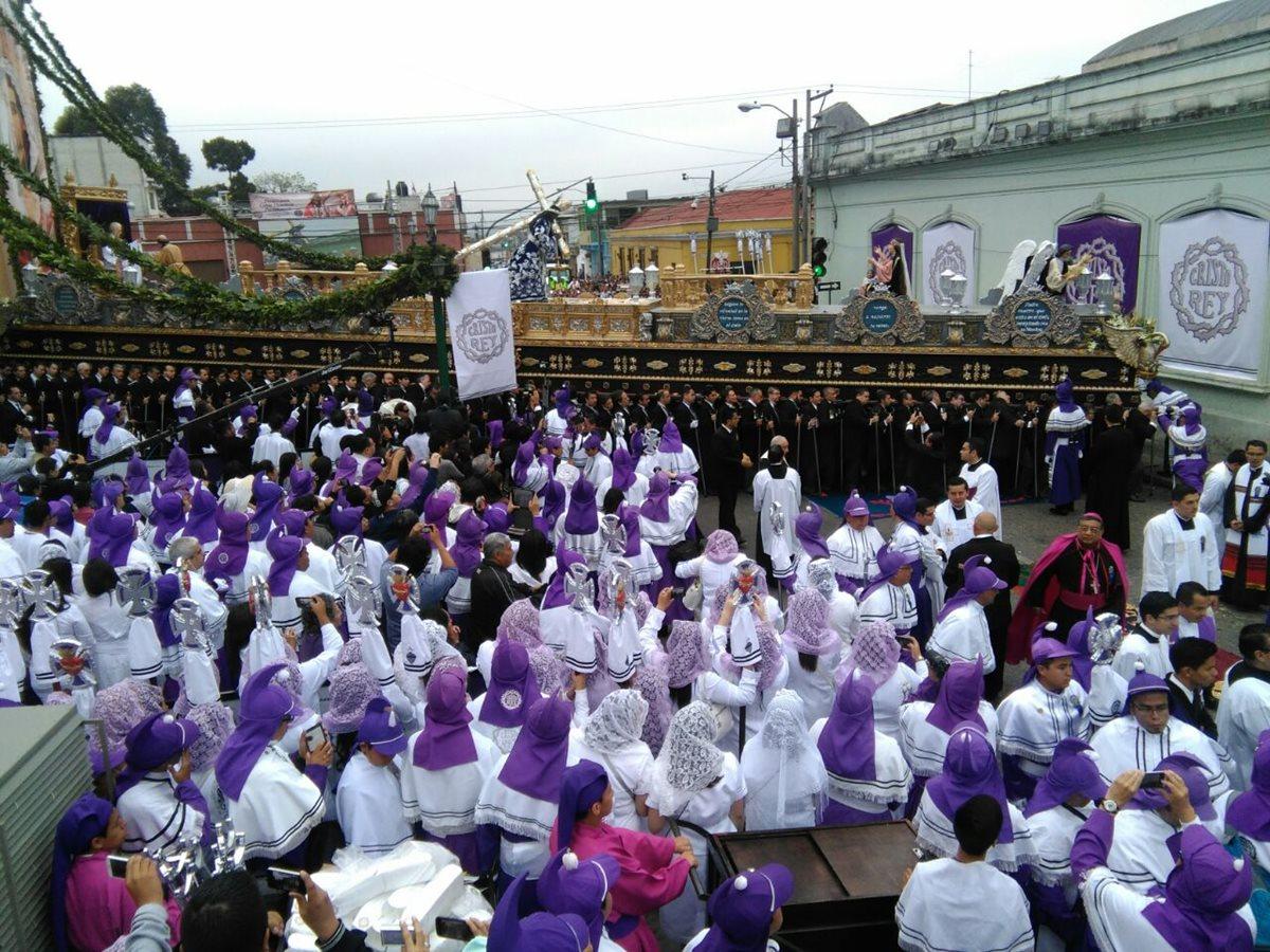 Procesión de Cristo Rey recorre el Centro Histórico