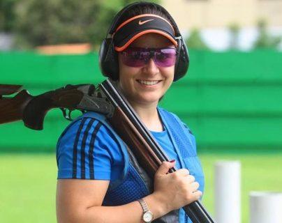 La tiradora Adriana Ruano es una luchadora incansable en el deporte guatemalteco. (Foto Prensa Libre: Hemeroteca)