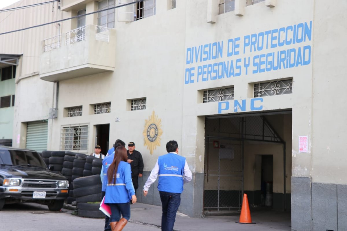 La unidad policial se encuentra en malas condiciones según el PDH.(Prensa Libre: cortesía PDH)