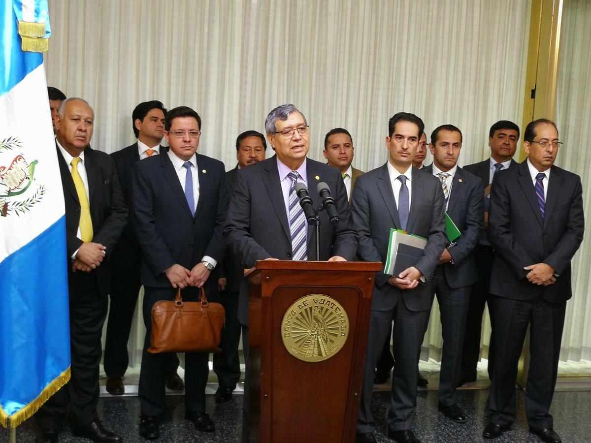 Vicepresidente Jafeth Cabrera informa de la ampliación del estado de Sitio en dos municipios de San Marcos. (Foto Prensa Libre: Hemeroteca PL)