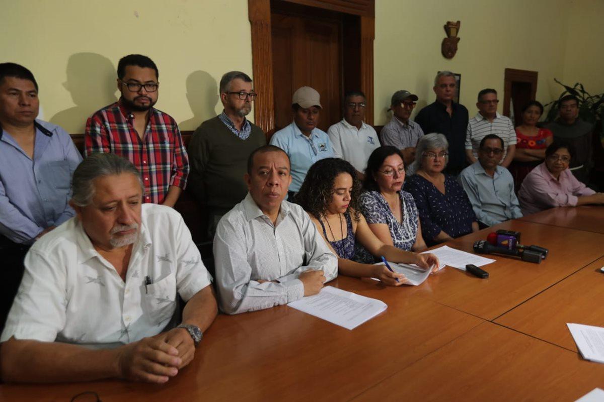 Organizaciones que defienden los Derechos Humanos denunciaron violencia en contra de activistas. (Foto Prensa Libre: Érick Ávila)