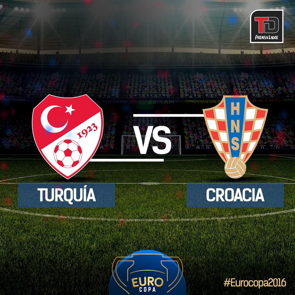 Croacia debuta con triunfo frente a Turquía