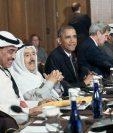 Barack Obama se reúne con los líderes del Golfo en Camp David para responder a sus inquietudes sobre Irán, (Foto Prensa Libre:AP
