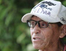 Lucas Herrera concedió una entrevista a Prensa Libre luego de terminar su jornada de trabajo en Villa Hermosa. (Foto Prensa Libre: Juan Diego González)