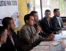 Carlos Figueroa, presidente de la AFG, amenaza que los jugadores no se someterán a las pruebas antidopaje. (Foto Prensa Libre: Edwin Fajardo)