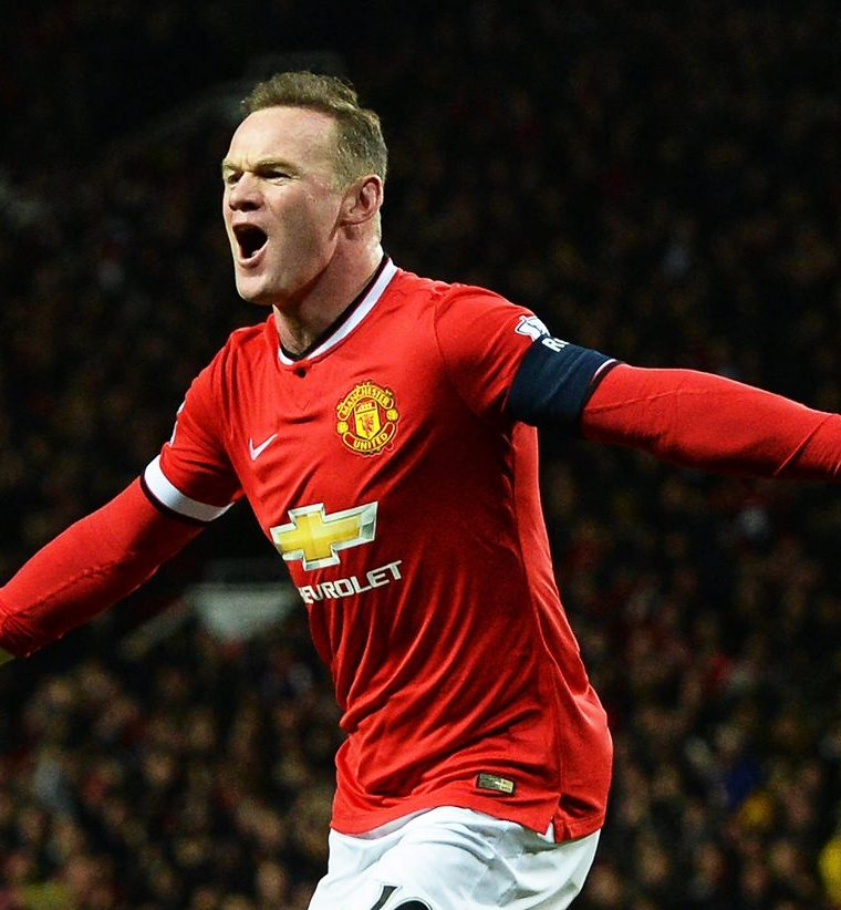 Wayne Rooney jugó para el Mánchester United. (Foto Prensa Libre: EFE)