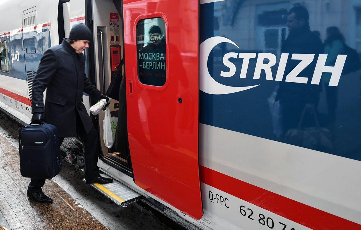 El tren unirá Moscú con Berlín en casi cinco horas menos.