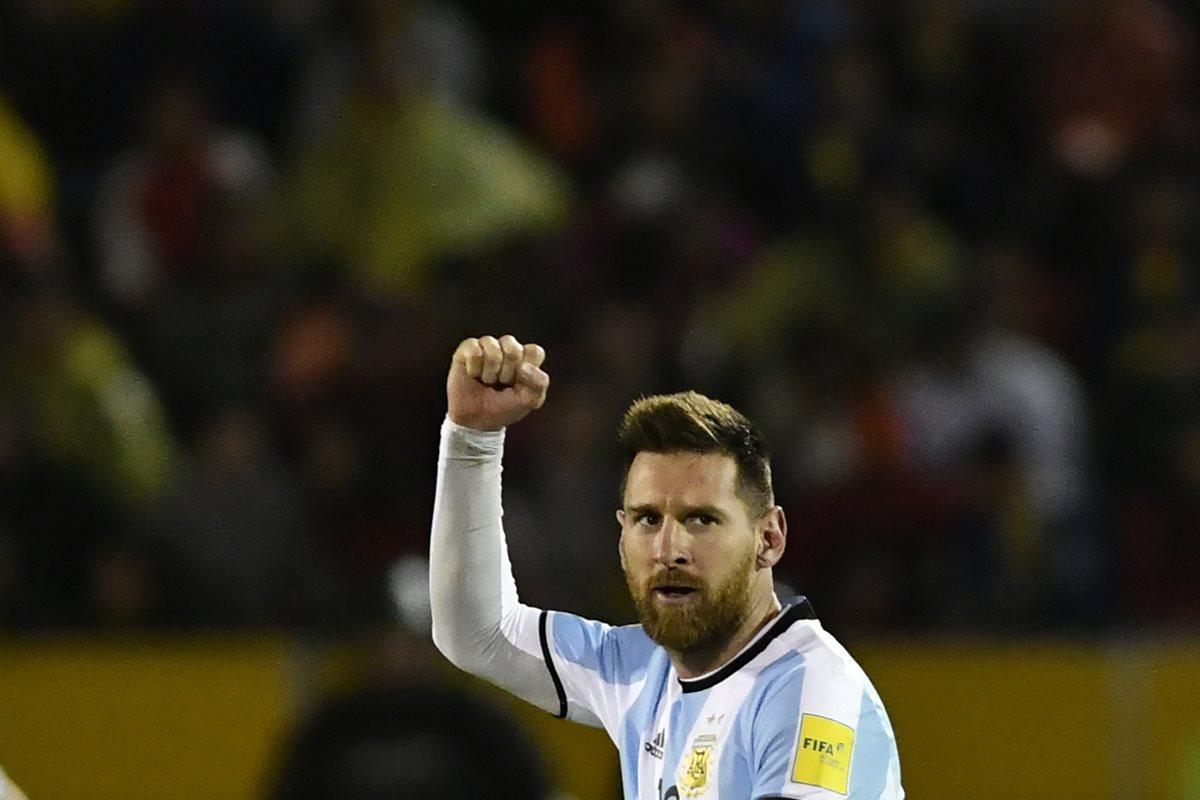 "Messi: ""Vamos Argentina, objetivo cumplido, nos vemos en Rusia 2018"""