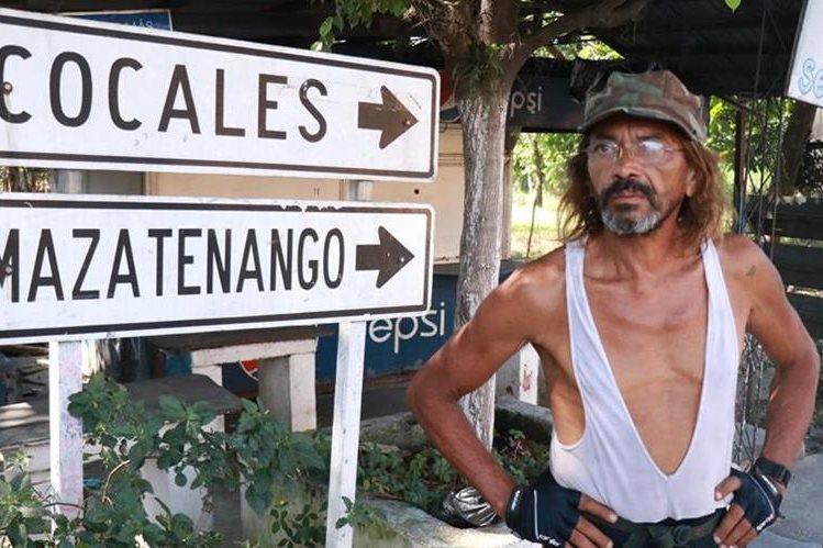 Antonio de Paduá, de origen ruso y con ciudadanía brasileña, ha recorrido unos 60 países. (Foto Prensa Libre: Cristian Icó Soto)