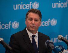 Justin Forsyth se convirtió en director ejecutivo adjunto de UNICEF en 2016, después de dejar su puesto como director ejecutivo de Save the Children. (Foto Prensa Libre: AFP)