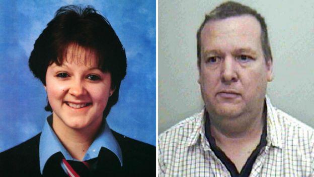 Paul Hutchinson fue apresado 25 años después de violar y asesinar a Colette Aram. (FOTO FAMILIAR / NOTTINGHAMSHIRE POLICE)