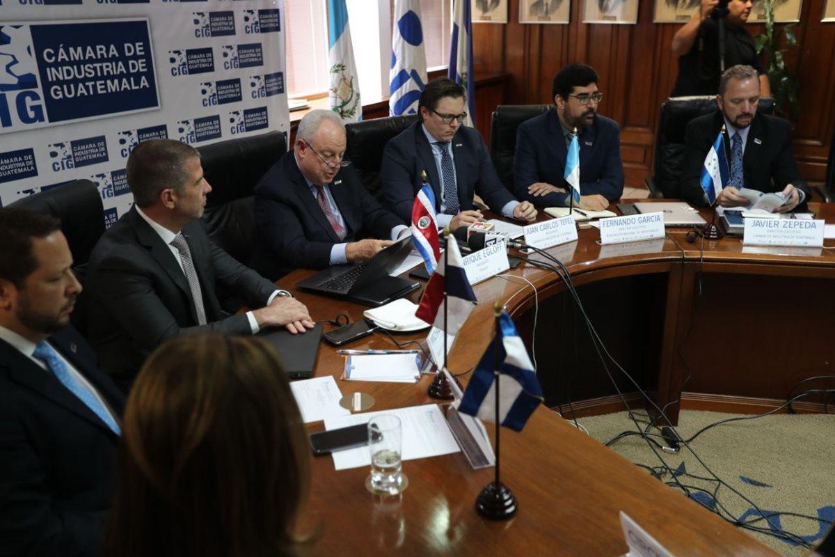 Sector industrial centroamericano se reunió en Guatemala para aprobar su Plan Estratégico 2018-2023. (Foto Prensa Libre: Érick Ávila)