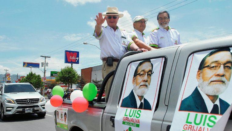 José Ángel López excandidato presidencial de Encuentro por Guatemala. (Foto Prensa Libre: Hemeroteca PL)