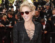 A sus 60 años, la actriz estadounidense Sharon Stone es considerada un icono sexual de la pantalla. (Foto Prensa Libre: EFE)