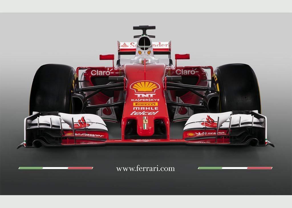 """La Oficina de Prensa de la escudería Ferrari, que muestra el nuevo modelo """"SF16-H"""" para la temporada 2016 en Maranello, Italia. (Foto Prensa Libre: EFE)"""