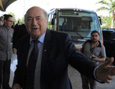 Joseph Blatter dejó la Fifa 2015, pero siempre está atento a todas sus actividades. (Foto Prensa Libre: Hemeroteca PL)
