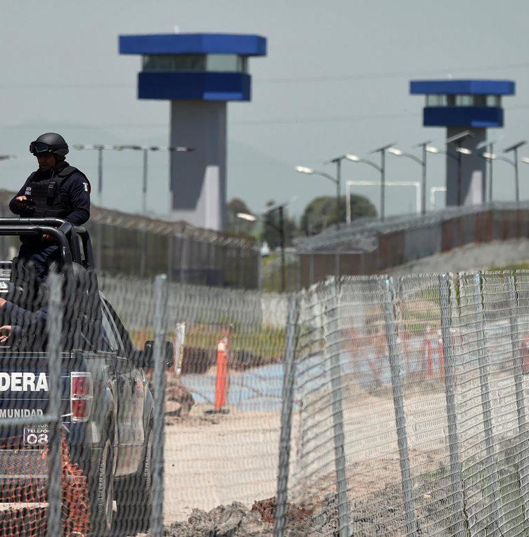 La prisión federal del Altiplano en Almoloya de Juárez en México, la cárcel de donde se fugó Joaquín el Chapo Guzmán en julio del 2015. (Foto Prensa Libre: Hemeroteca PL)
