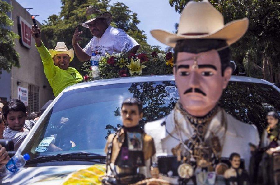 """Jesús Malverde es el """"santo"""" de los narcos. (Foto: AFP)"""