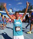 Carlos González ganó la San Silvestre 2017. (Foto Prensa Libre: Carlos Vicente)