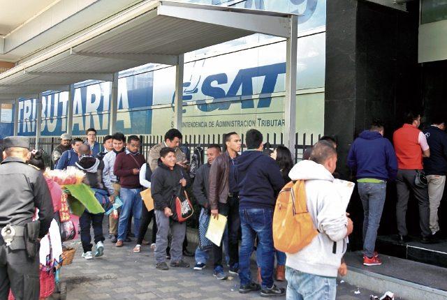 LA SAT logró superar sus metas de recaudación en el 2016 por Q251 millones.