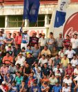 La afición de los Venados cumplió con apoyar a su equipo en la derrota contra Antigua GFC. (Foto Prensa Libre: Omar Méndez).