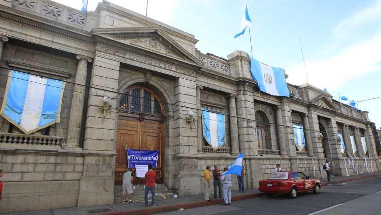 El Congreso deberá conocer en los próximos días el antejuicio en contra del presidente Jimmy Morales, solicitado por el MP y Cicig. (Foto Prensa Libre: Hemeroteca PL)