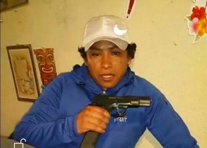 Carlos Israel Girón Pascual, de 30 años, fue capturado por la PNC el 5 de mayo último. (Foto HemerotecaPL)