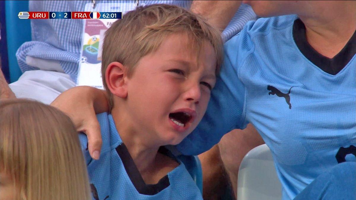 El niño que refleja la tristeza de Uruguay y conmueve al mundo