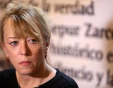 La Nobel de la Paz, Jody Williams, siguió de cerca el caso Sepur Zarco. (Foto Prensa Libre: EFE)