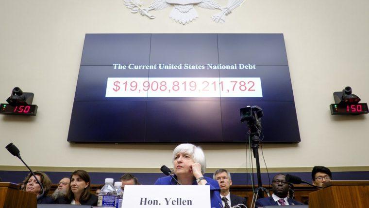 Janet Yellen, presidenta de la Fed. (Foto Prensa Libre: AFP)
