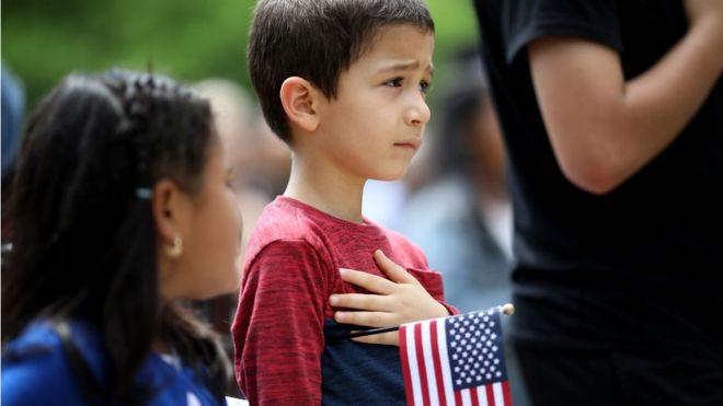 Si una persona nace en Estados Unidos, recibirá la ciudadanía estadounidense. GETTY IMAGES