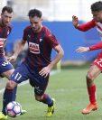 El Espanyol y Eibar no pasaron de un tímido empate en el campeonato español. (Foto Prensa Libre: AFP)
