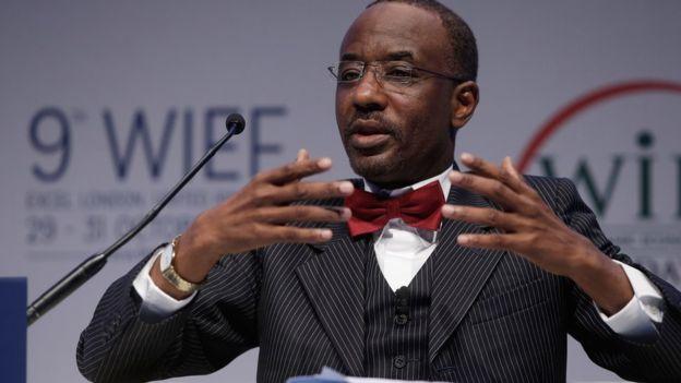 Muhammad Sanusi fue el director del Banco Central de Nigeria. AFP