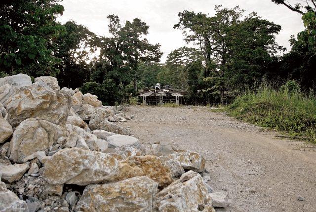 Por diferentes factores, la supervisión de la Franja Transversal del Norte ha tenido incrementos en los costos, que podrían llegar a 140 por ciento. (Foto Prensa Libre: Juan Carlos Rivera)