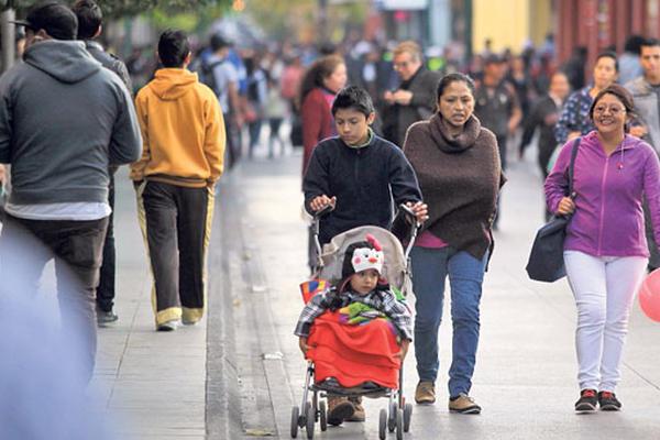 Este viernes se percibe un descenso de temperatura, producto de los efectos de una onda fría en el país. (Foto Prensa Libre: Hemeroteca PL)