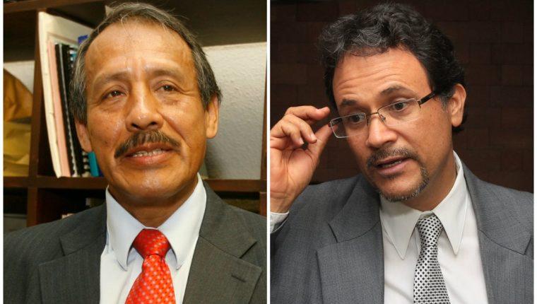 Abogados Raúl Pacay y José Toledo. (Foto Prensa Libre: Hemeroteca PL)