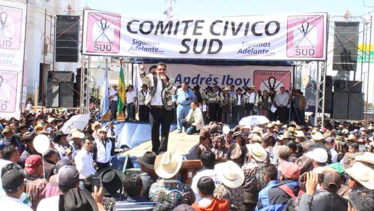 La participación de los comités cívicos ha aumentado en este proceso electoral en comparación a dos procesos anteriores. (Foto Prensa Libre: Hemeroteca PL)