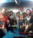 La familia estadounidense encontrada en Breves en el estado de Pará, Brasil. (Foto Prensa Libre:(EFE).