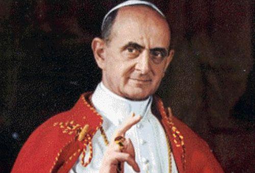Pablo VI concluyó el concilio del Vaticano II. (Foto: ACI Prensa)