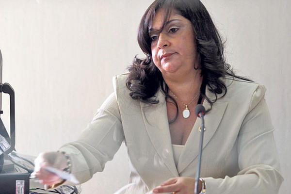 La jueza Jisela Reinoso dirige el Juzgado Cuarto Penal desde marzo del 2011, en sustitución de Rocael Girón.