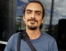 Eduardo Spiegler, cineasta guatemalteco que murió en Nicaragua (Foto Prensa Libre: Twitter / @JASS_meso).